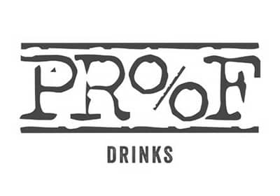 Proof drinks logo